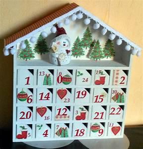 Calendrier De L Avent Maison En Bois : calendrier de l 39 avent en bois la maisonnette ~ Melissatoandfro.com Idées de Décoration