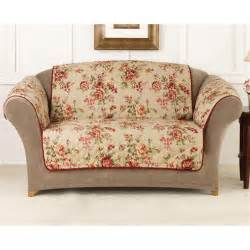 sofa covers sure fit floral sofa pet cover 292857 furniture covers at sportsman 39 s guide