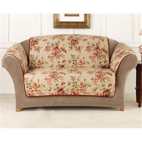 Sure Fit Lexington Floral Sofa Pet Cover 292857