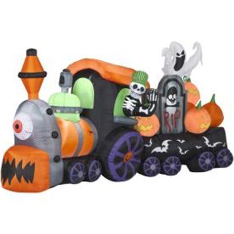 Gemmy Inflatable Halloween Train by Shop Gemmy 6 1 8 Ft Animatronic Inflatable Halloween