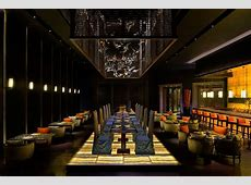 Yuan Restaurant Atlantis The Palm ECOSENSE LIGHTING