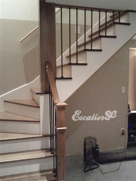 construction d un escalier avec barreaux de m 233 tal