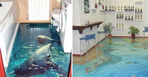 3d fußboden bilder 3d bodenbel 228 ge verwandeln badezimmer in ozean