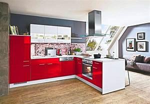Küche In Rot : l k che lack rot hochglanz nur 4444 inkls 5 marken elektroger te ~ Frokenaadalensverden.com Haus und Dekorationen