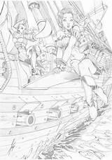 Tzanoukakis Tony Deviantart Plank Ink Tomb Raider Maiden Dragon Mcteigue Dawn Drawings sketch template