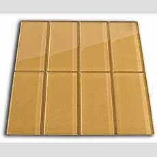 Sahara Glass Subway Tile 3x6 For Backsplashes, Showers