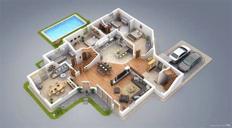 plan villa moderne 3d 2 storey house design plans 3d inspiration design a house interior exterior