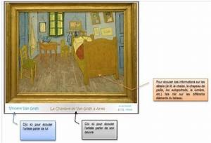 description d39un lieu la chambre et la nuit With description de la chambre de van gogh