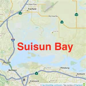 Suisun Bay: Sand and Mud