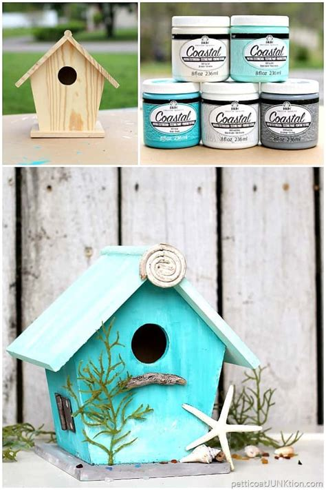 lover birdhouse project coastal paint in