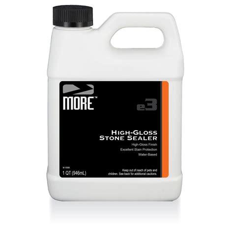 high gloss marble sealer more high gloss stone sealer quart