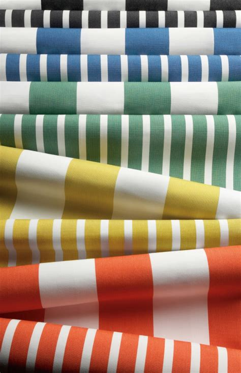 sunbrella indoor or outdoor cushion fabrics stripes