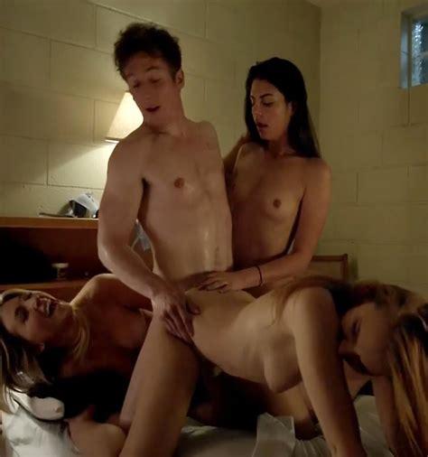 Maria Breese And Jocelin Albor Nude Group Sex Scene In
