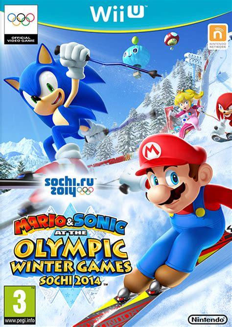 mario sonic   sochi  olympic winter games wii