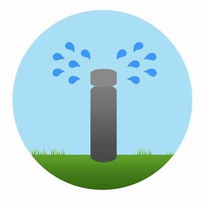 Irrigation Water Sprinkler Tips Circle Waste Clogged