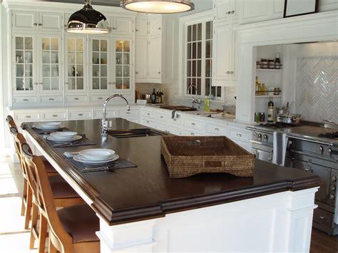 kitchen island tops premium wide plank wood countertops custom