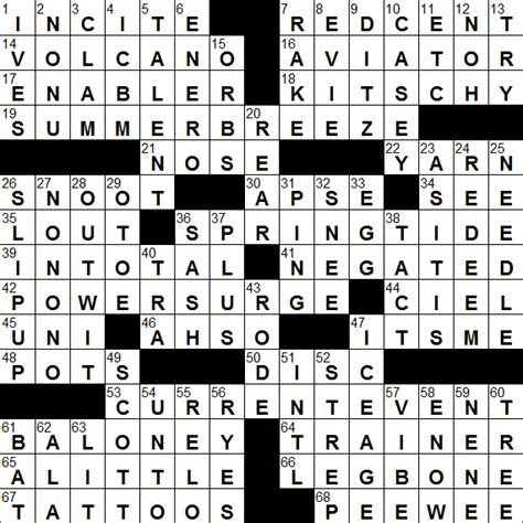 italian vegetable soup crossword clue