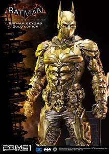 Museum Masterline Batman  Arkham Knight Batman Beyond Gold