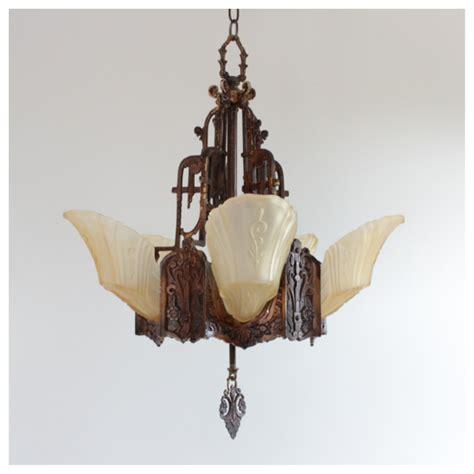diy149 deco slip shade chandelier bogart bremmer