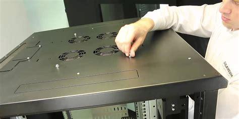 Armoire Brassage Cablage Informatique by Comment Installer Une Platine De Ventilation Sur Une Baie