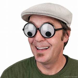 Googly Eyes Glasses - Archie McPhee & Co