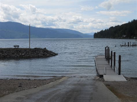 Bay Lake Boat Launch by Lake View Home For Sale In Garfield Bay Sagle Idaho