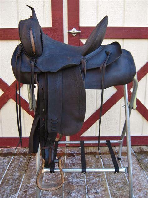 saddle saddles western antique makers highback horse ranch saddlery maker marks mark alturas visit antiques bridle