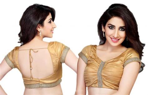 holi diwali status latest blouse front  neck
