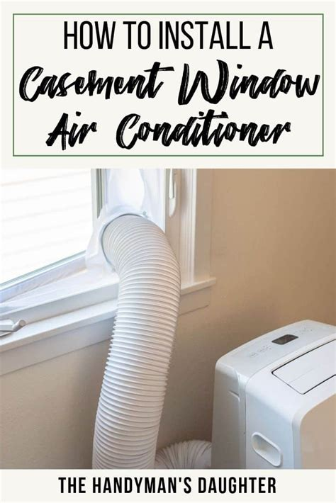 simple casement window air conditioner solutions