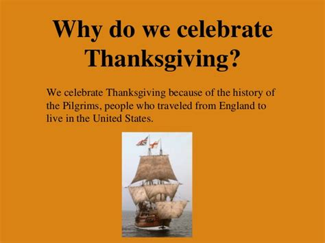 why we celebrate thanksgiving thanksgiving