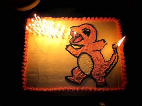 pokemon birthday cake yummy charmander birthday party