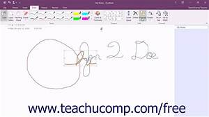 Onenote 2016 Tutorial Formatting Written Notes And