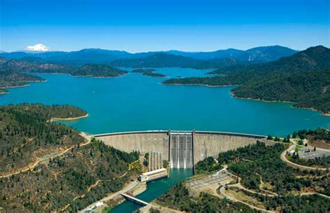Lake Shasta, California's Largest Reservoir, Tops Out At