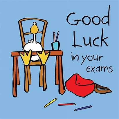 Luck Exam Exams Clipart Wishes Quotes Test