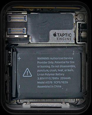 Apple Watch Internal Electronic Circuit Board Cool