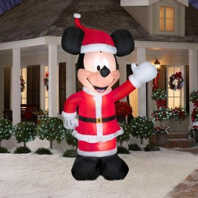 july inflatable mickey  christmas inflatables