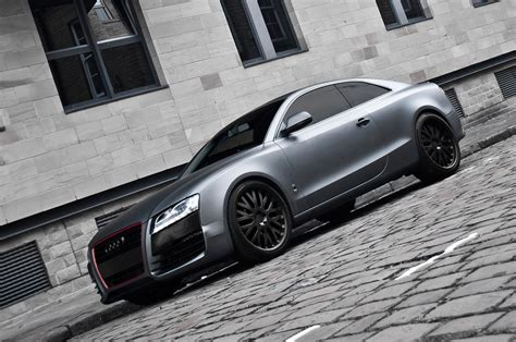 audi a5 coupe tuning audi a5 coupe kahn grey 6 audi tuning mag