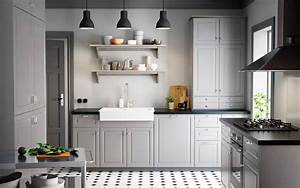 Ikea Bodbyn Grau : szara kuchnia i dodatki blog o wn trzach designie i architekturze 100 wzornictwa ~ Markanthonyermac.com Haus und Dekorationen