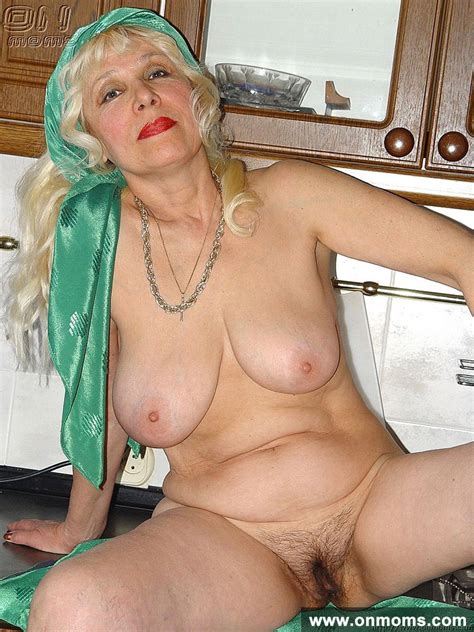 mature housewife blonde galina feeling naughty and gets horny in her own kitchen xxx milfs
