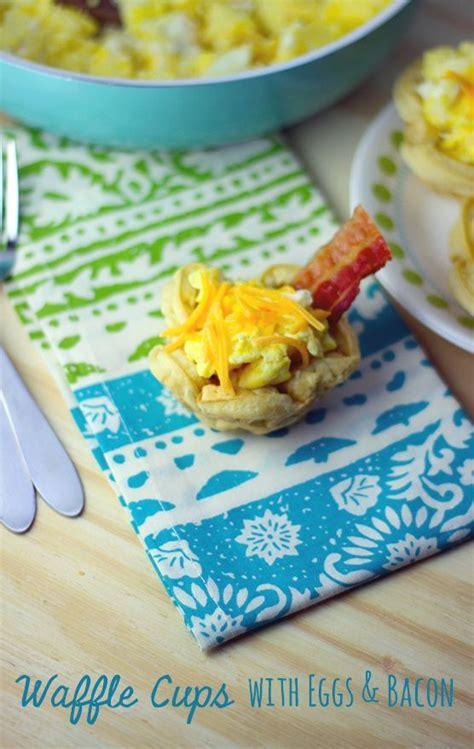 Sam S Boat Brunch by Breakfast Waffle Cups Recipe Breakfast Recipes