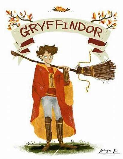 Slytherin Gryffindor Potter Harry Houses Students Hogwarts