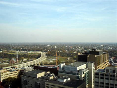 vcu parking deck jump richmond va view of downtown richmond from the