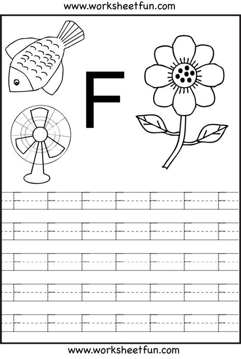 letter f worksheets h3dwallpapers high definition free