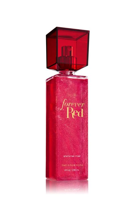 Forever Red Shimmer Mist - Signature Collection - Bath ...