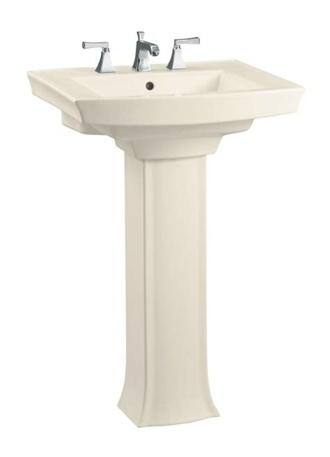 kohler k 2359 4 47 almond 24 quot centerset vitreous china