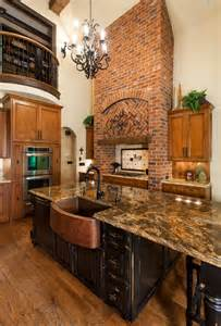 Copper Kitchen Island with Sink