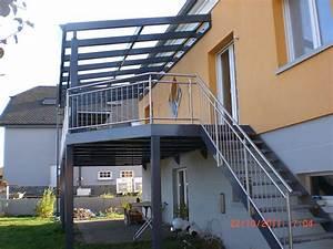 Terrasse Metallique Suspendue : terrasse m tallique sur mesure outdoor ~ Dallasstarsshop.com Idées de Décoration