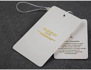 custom hang tags clothing printed paper swing tag With custom logo tags for clothing