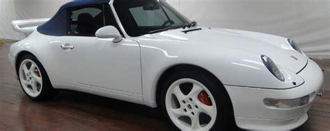 porsche    sale white  convertible