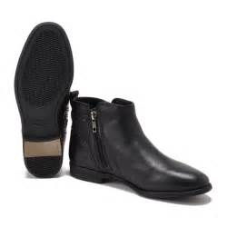 s flat boots sale uk ugg 39 s demi leather flat ankle boots black free uk delivery